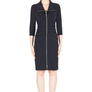 Joseph Ribkoff Full Exposed ZIP dress